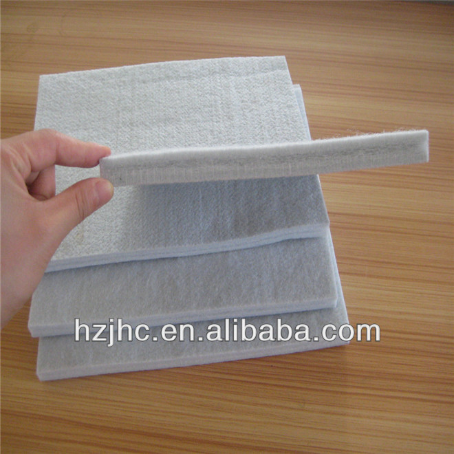 Polyester needle punch nonwoven hard felt sheet of mattress material