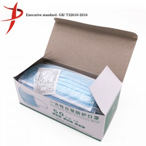 Disposable Protective Facial Mask For Daily Usage