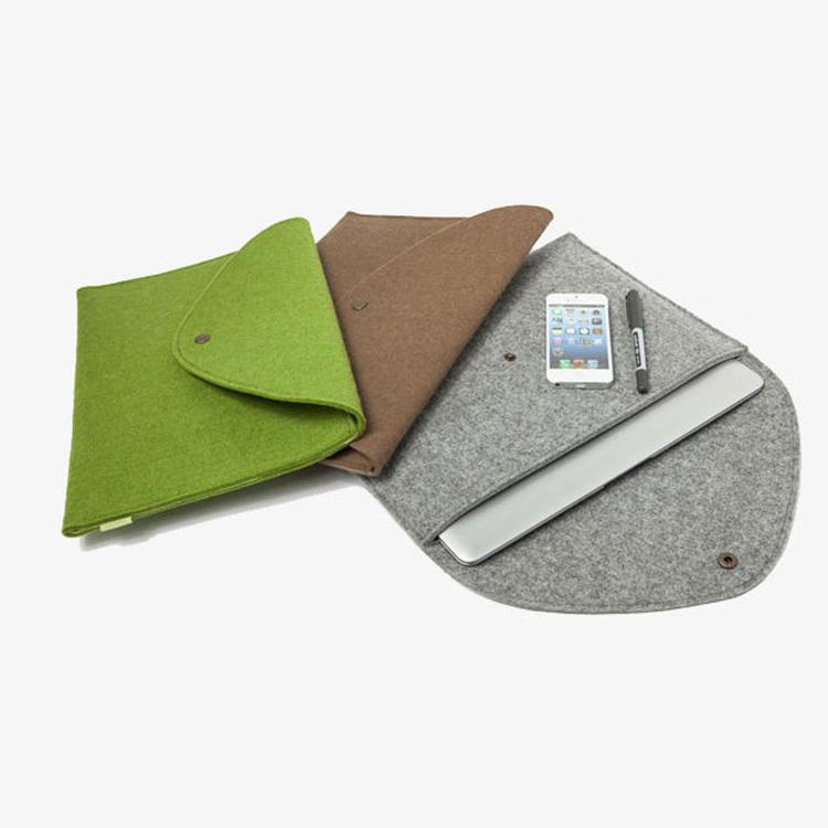 Fashional Customized sizes notebook bag felt laptop sleeve case for Tablet