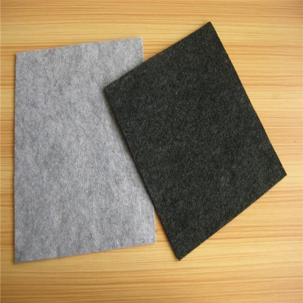 Colorful100% polyester non-woven fabric felt