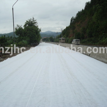 Needle punched polyester/polypropylene non woven geotextile for slope protection