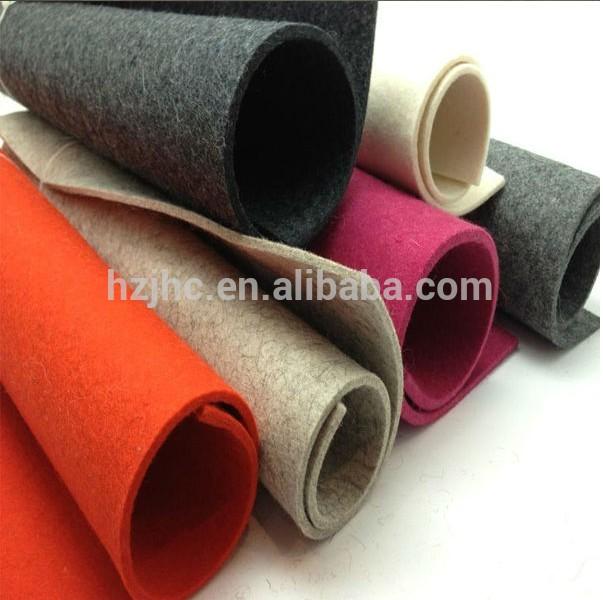 Huovuttaa Industrial kudotun kova villa huopa valmistettu Kiinassa