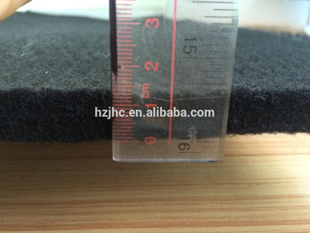 20mm paks polüester mittekootud nõel augustatud vilttooteid