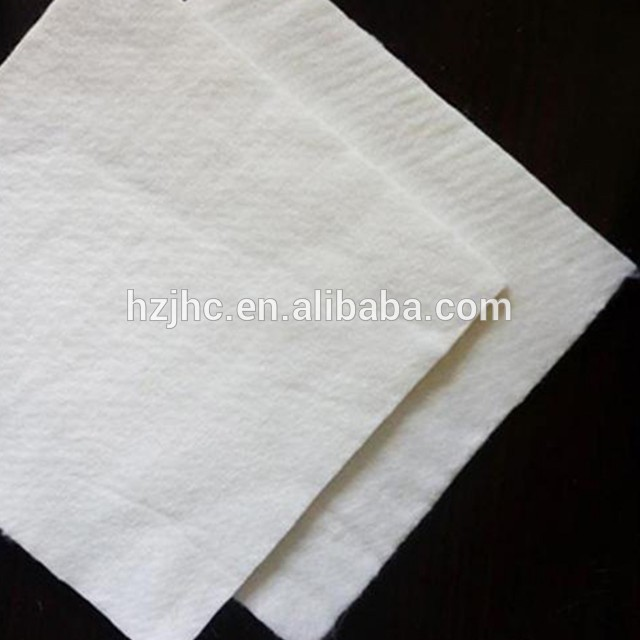PP Short / Long Fiber Needle Punched Roll Length 100m Geotextiles