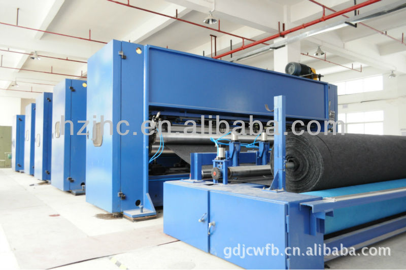 nonwoven needle punched machine