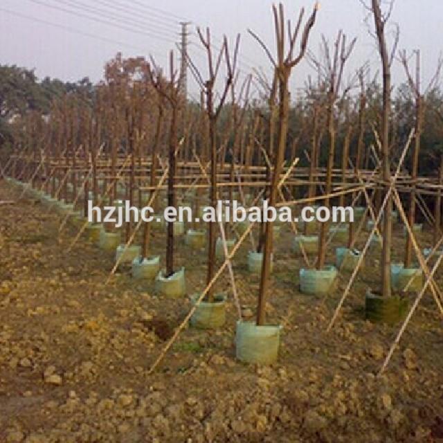 China Supplier Needle Punched Nonwoven tela Planter Lumago Bag