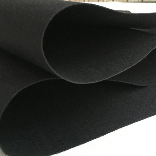 maatwurk non woven nulle Punched fielde fabric