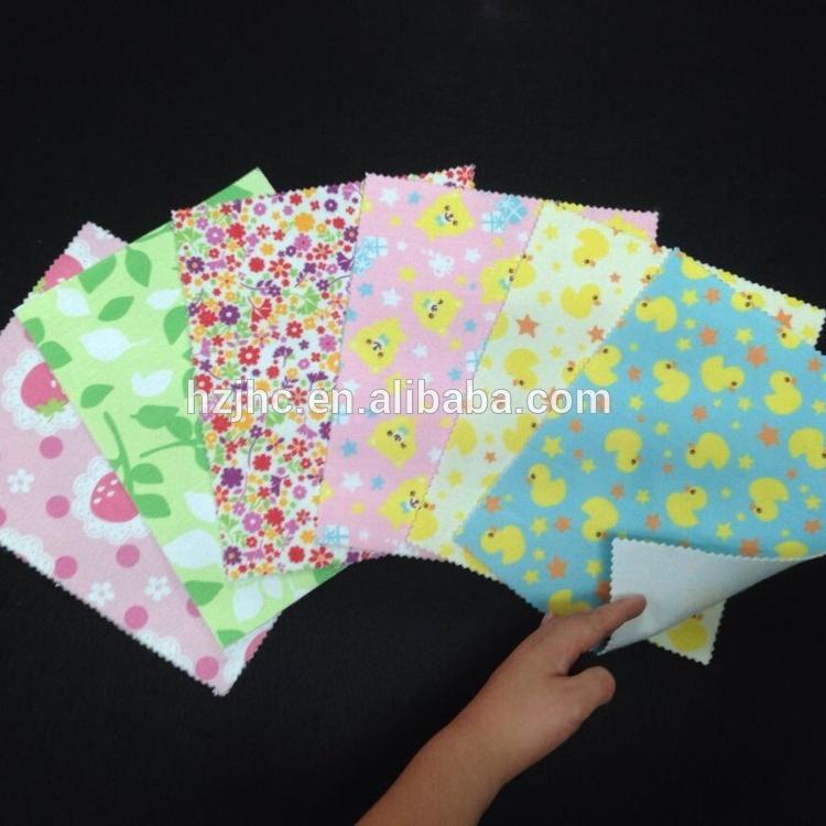 מפעל Huizhou מייצר ארוגי הדפסה בצבע המחט ללבוש הרגישו
