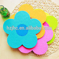 Factory price needle punched colorful printed nonwoven fabric felt for KID DIY