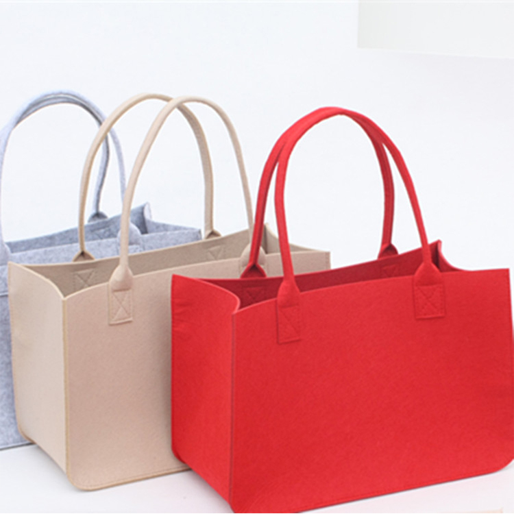 2018 tote bags ladies fashion felt utility bags women handbags