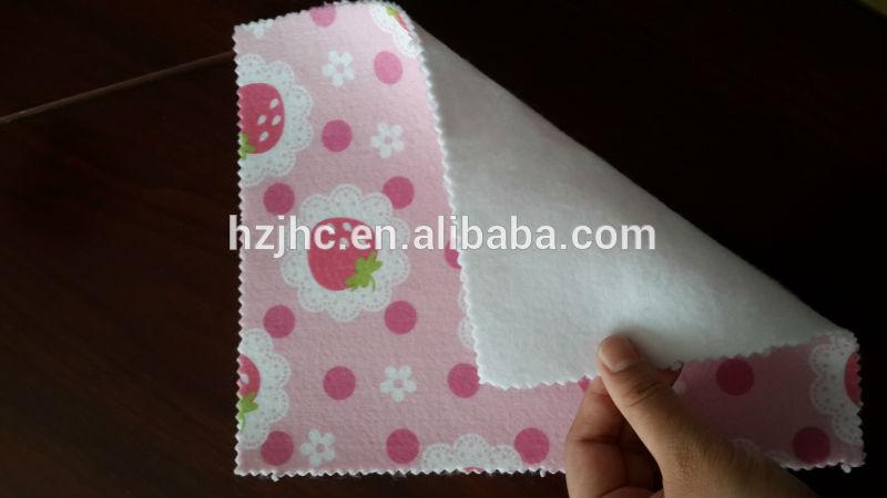 tela de encargo aguja impreso sacador no tejida