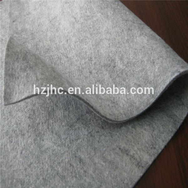 Polyester vanligt nonwoven nålstansad filt tyg väskor för kvinnor