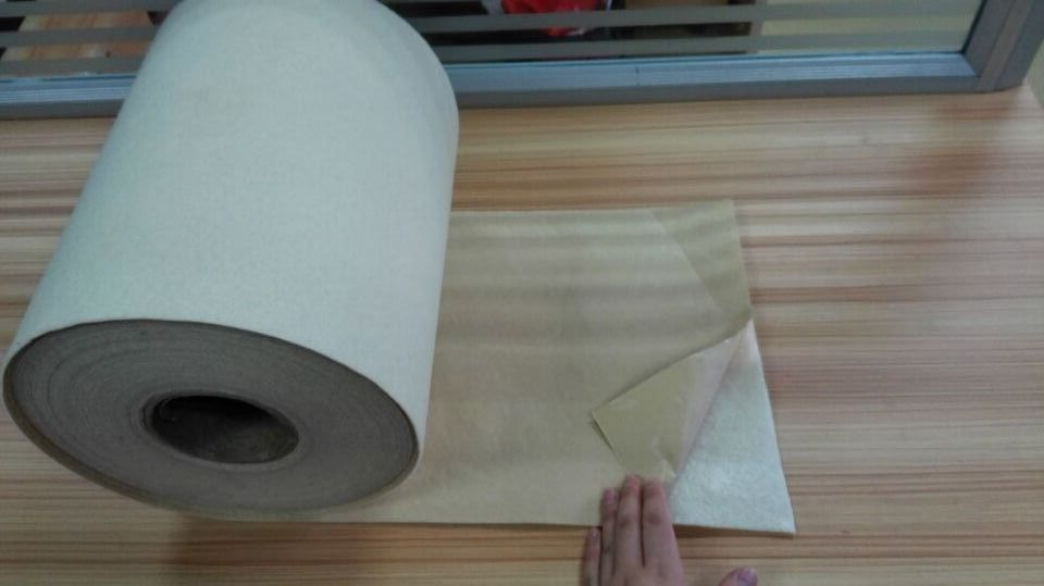 Textile fabric self adhesive non woven fabric cold water soluble non-wave fabric polyester felt