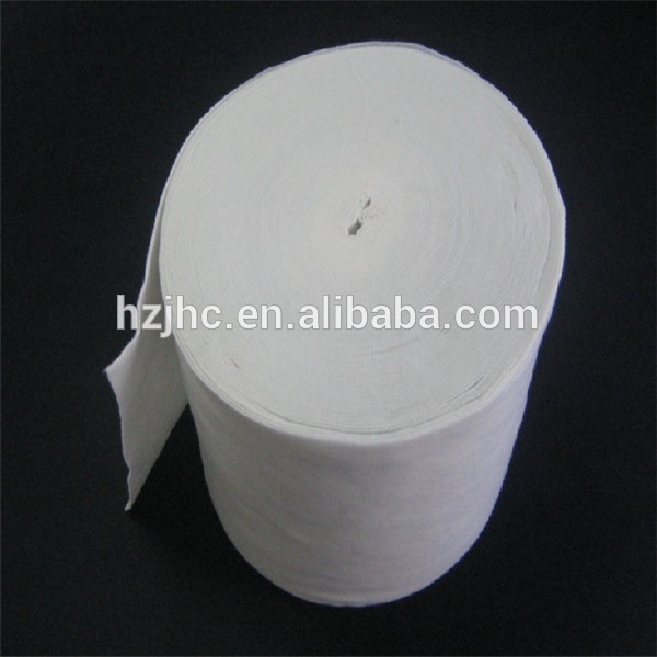 Needle punched biodegradable non woven fabrics