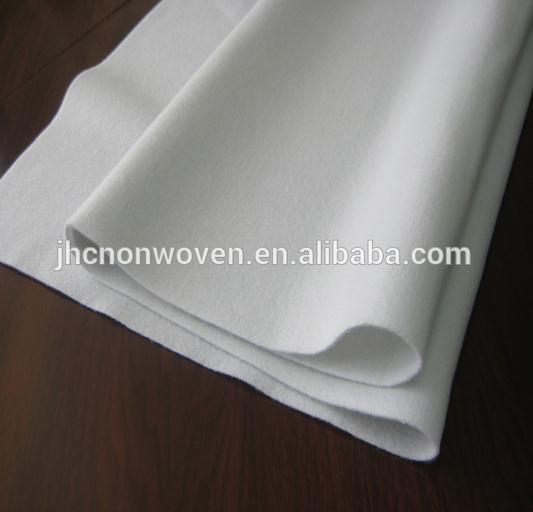 Polyester Staple Fiber Nonwoven Geotextile Mat Fabric Waterproof