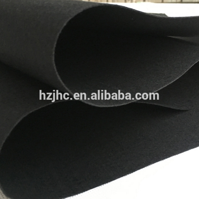 China aerogel heat insulation needle punched nonwoven felts fabric