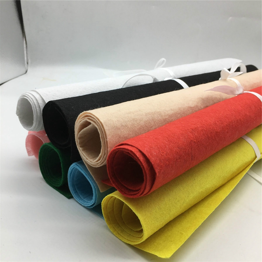 Factory directly sale polyester needle punched nonwoven fabric