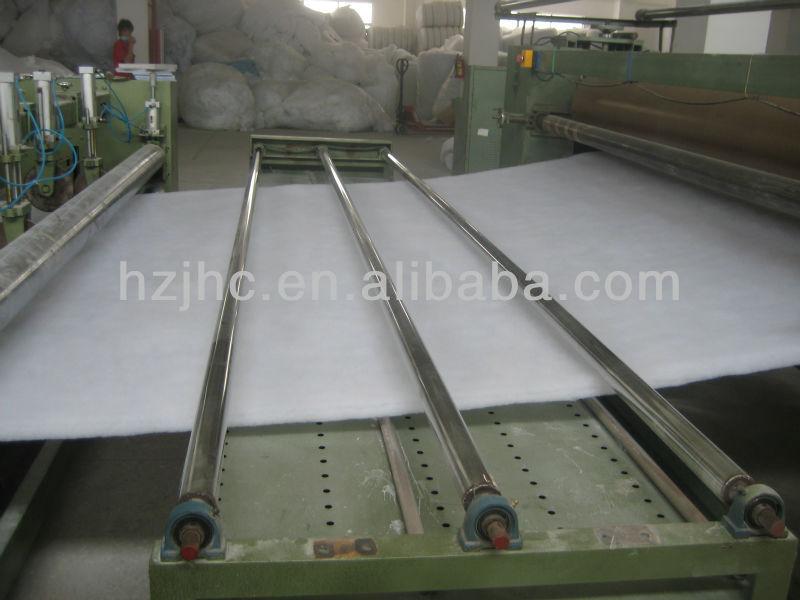 Hot air through polypropylene nonwoven fabric