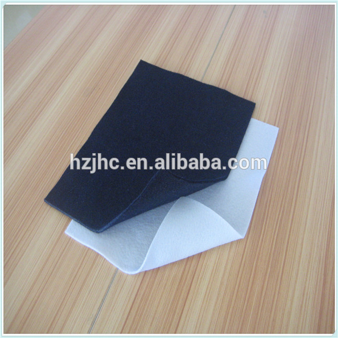 Factory Outlets Handmade Silk Quilts For Sale - Cheap white/black nonwoven polyester needle punched felt wholesale – Jinhaocheng