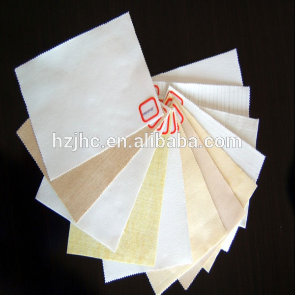 Reusable polyester vacuum cleaner non-woven dust filter bag fabric