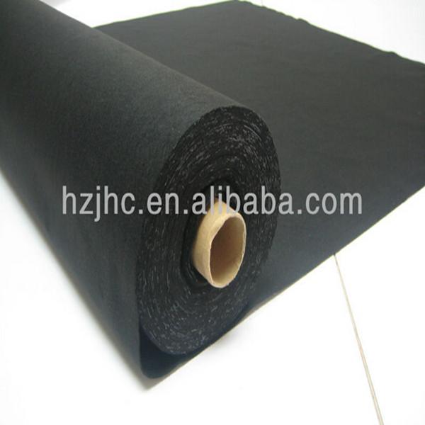 Anti-statiese polyester nonwovens naald geslaan gevoel voering / opgestopte materiaal