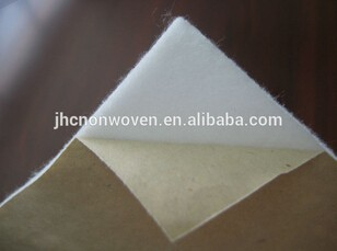 Cheap printed polyester self adhesive needle felt pads made in china