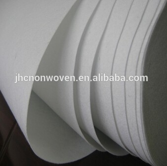 Nonwoven 120 micron filter cloth fabric for water liquid filter bag