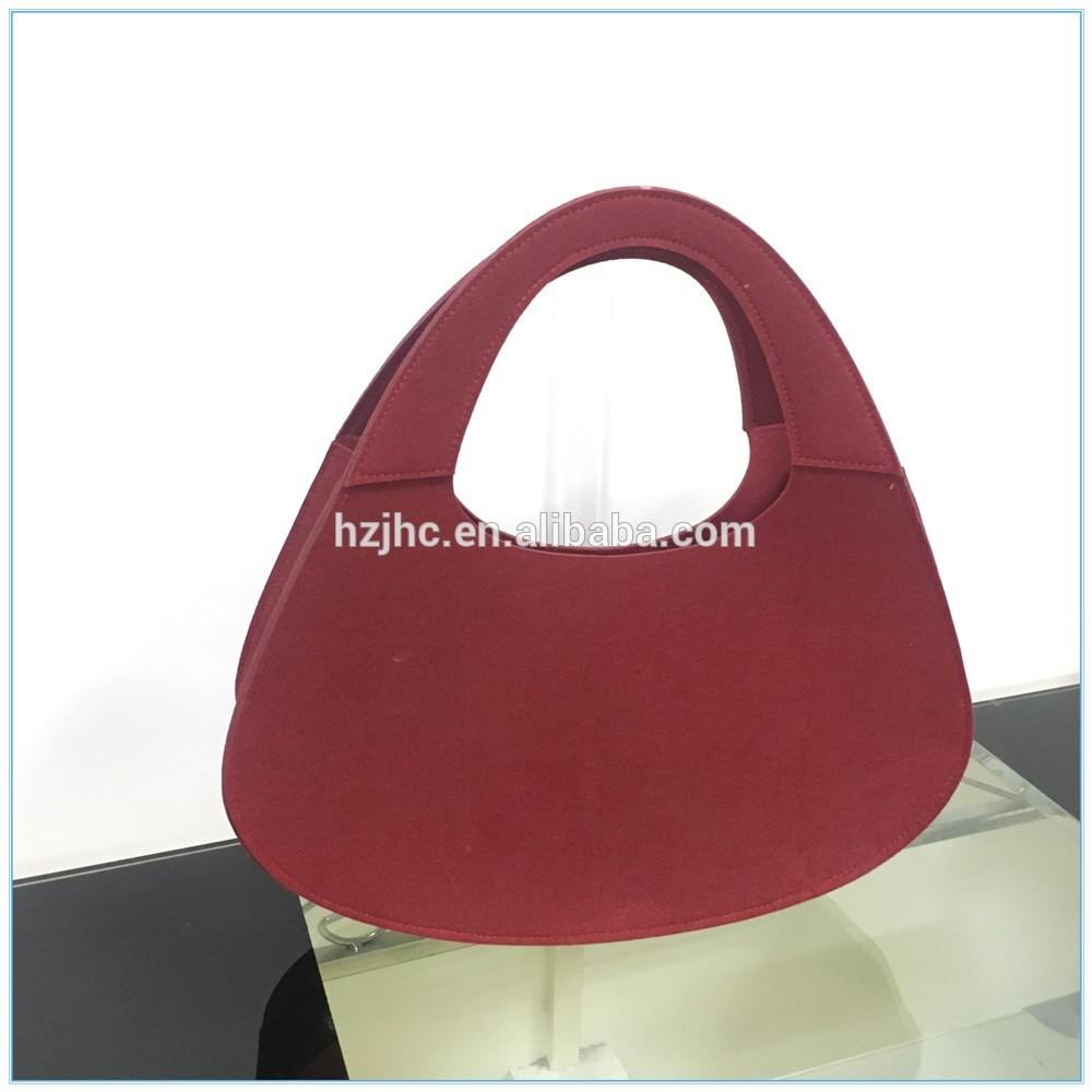 100% полиестер тканина сировина за регистроване ткане торбе за жене