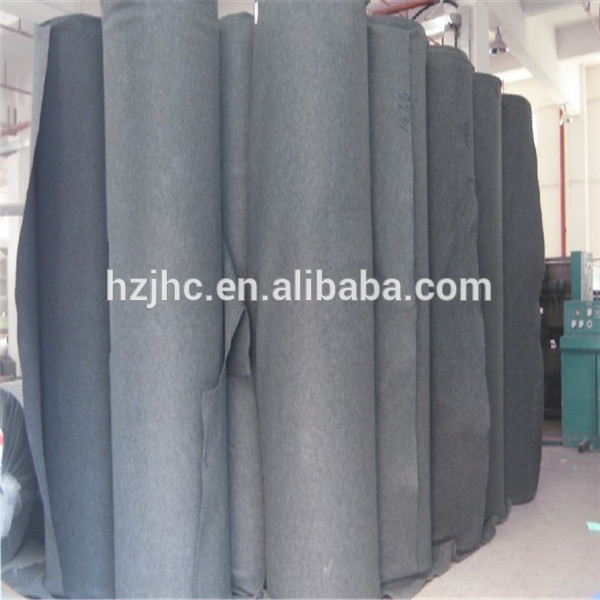 100% Polyester material and nonwoven technics needle punched carpet