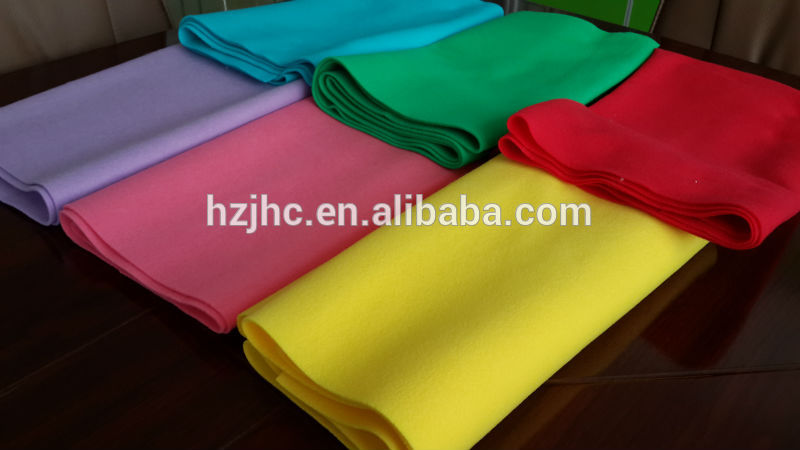 Wholesale cheap pet polyester needle punched nonwoven fabric supplier