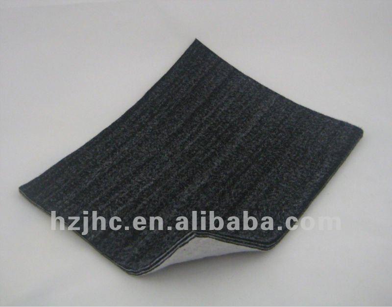 Polyurethane laminate polyester fabric