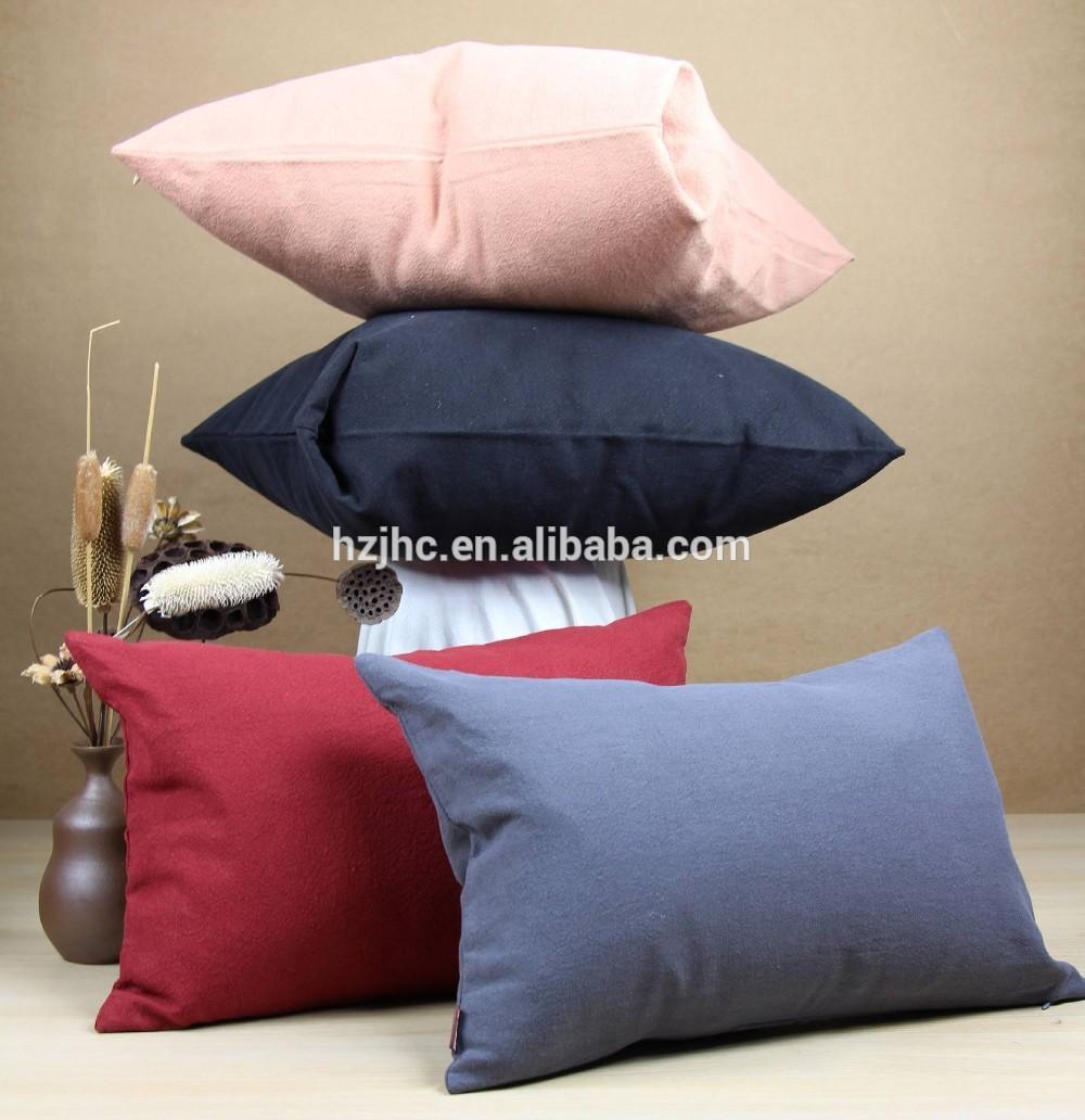 Soft wool felt auto / sofa sit kessens cover stof makke yn china
