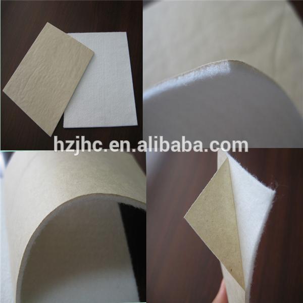 Oeko-Tex Standard 100 perekat didukung polyester merasa Strip