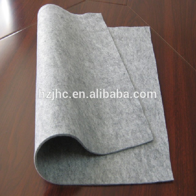 Grey polyester needle punched nonwovens felt for nonwoven storage
