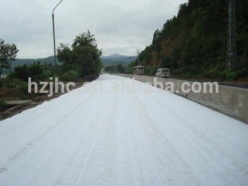 PET/PP nonwoven geotextile filter felt mat fabric for retaining wall