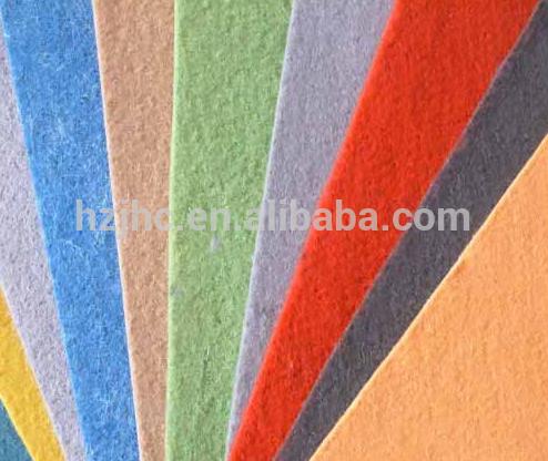 ébauches d'aiguilles de polyester en tissu non-tissé perforé abrasifs