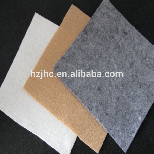 Nonwoven Kain Industri Needle Punched Fabric Filter kain tenun