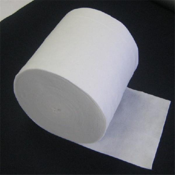 Goedkeap ferkeap soft polyester dikke filt stof yn roll