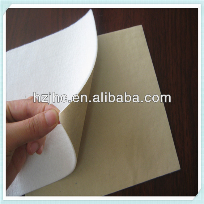 Laminate felt underlay non-woven fabric super absorbent fabric