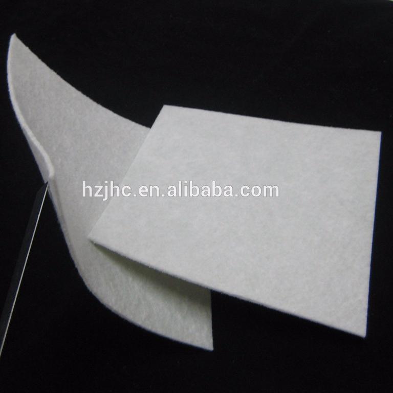 High quality needle punched nonwoven polyamide felt