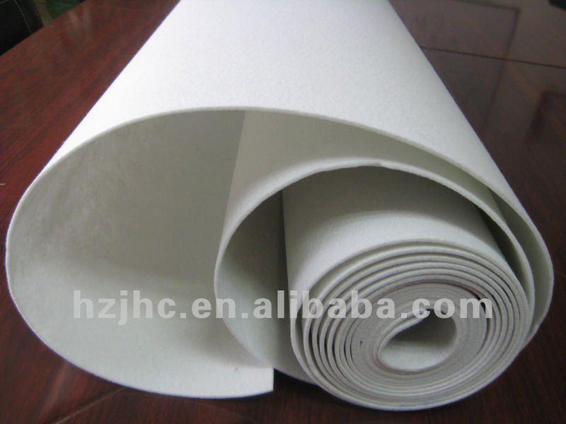 Polyester needle punch nonwoven felt used wrestling EVA mats for sale