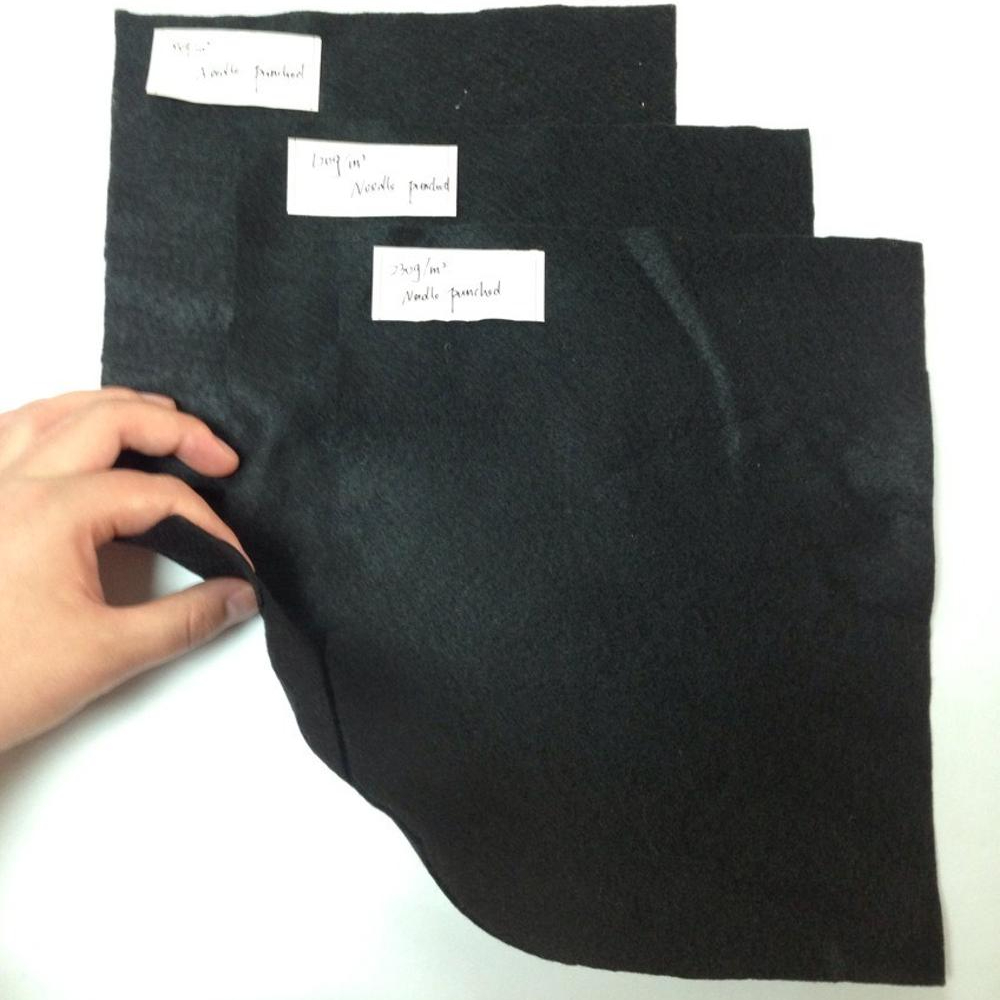 Black Nonwoven poliesita ro fabric