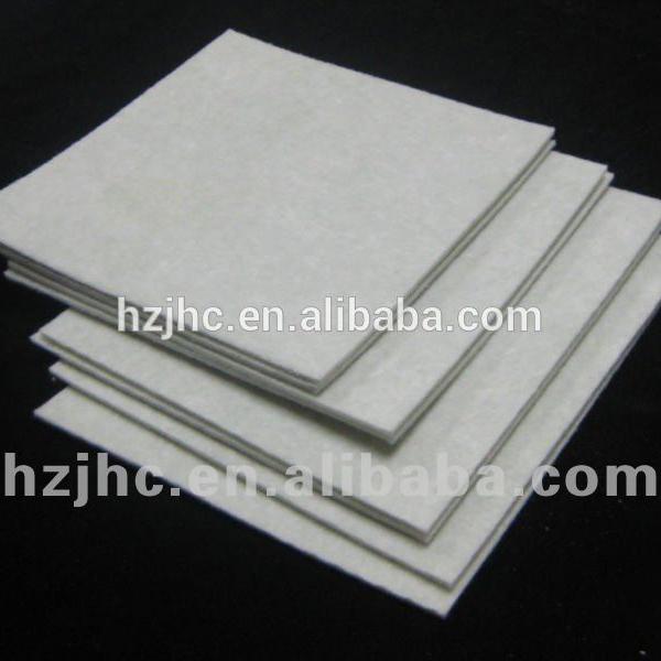 Custom poliestër gjilpërë grushta nonwoven pëlhurë për Pluhuri Collector Filter Bag
