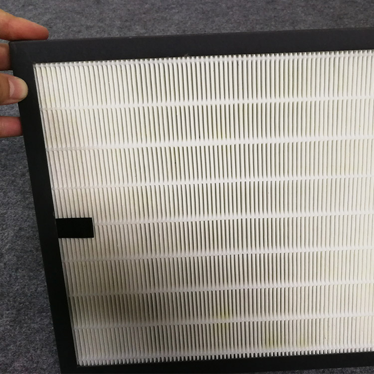 High efficiency h13 hepa filter for air filtration system