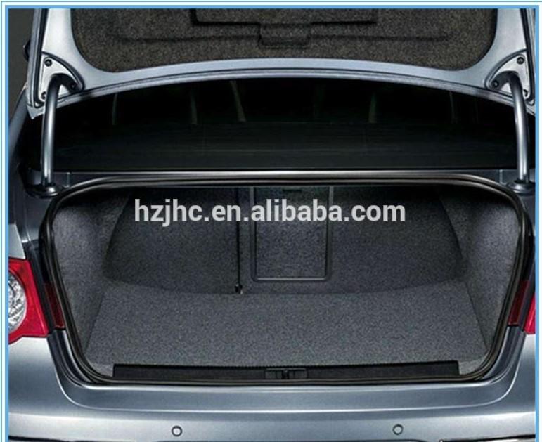 Super càileachd auto pàirtean / auto taobh a-staigh accessories nonwoven bhrat