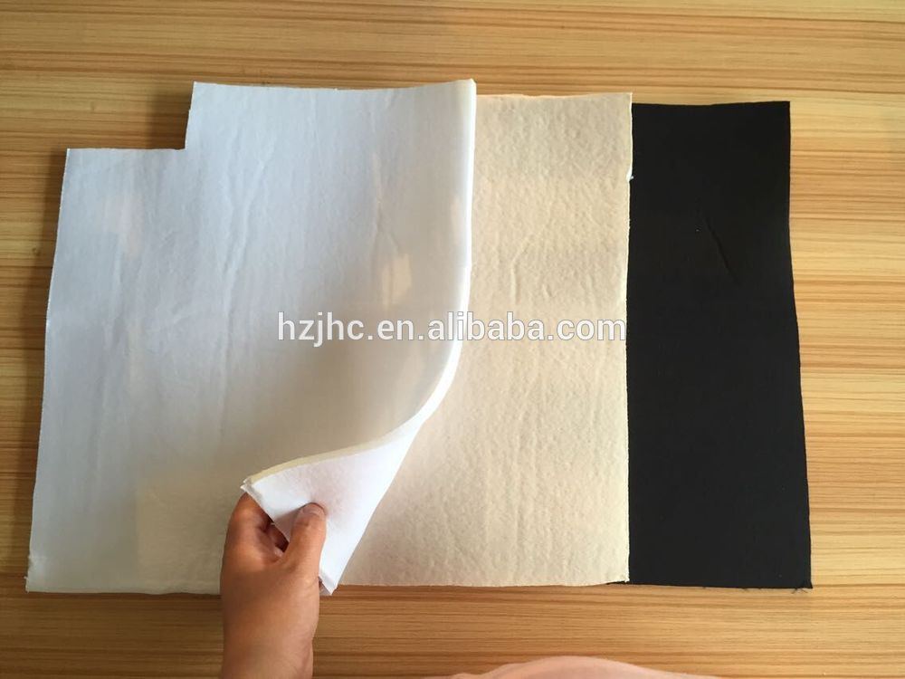 Laminated cotton fabric for foam bra cup