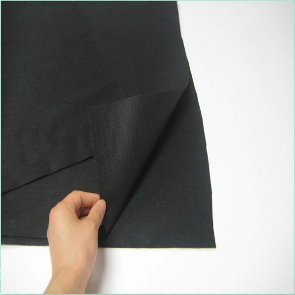black non-woven waterproof landscape fabric