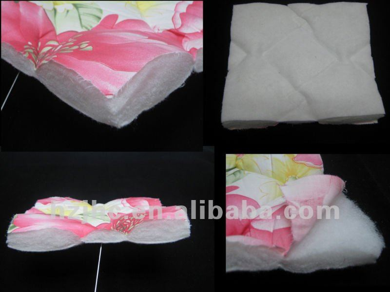 Eco-friendly thermal bonded cotton batting for quilt