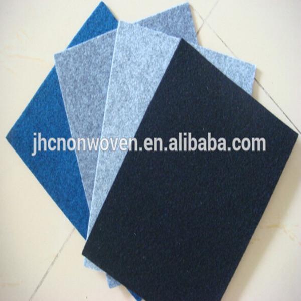 Cheap bulk polyester viscose needle punching non-woven felt fabric wholesale