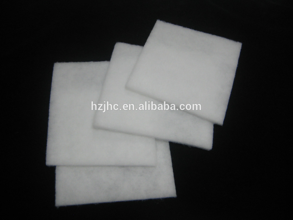 Washable thermal bonded cotton polyester nonwoven coat lining material made in china